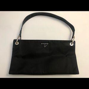 PRADA vinyl shoulder bag